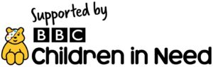 Supported by Children in Need logo