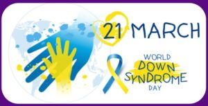 World Down Syndrome Awareness Day  logo