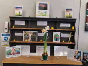 Easter Dresser Display
