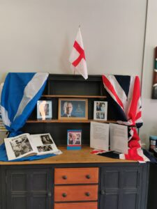 display about the Duke's life