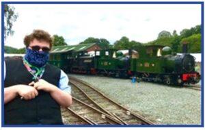 Three Steam Trains