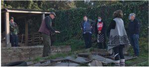 community garden visit