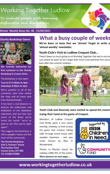 Almost Weekly News No. 48