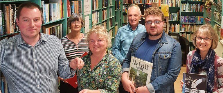 Bookshop handover